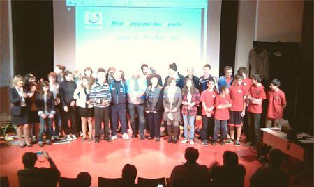 Les sportifs et bénévoles récompensés par un trophée