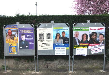 6 candidats pour les élections cantonales sur Angers Ouest au 1er tour
