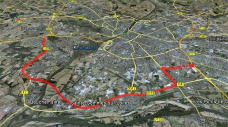 Le projet de rocade sud d'Angers qui ne verra jamais le jour