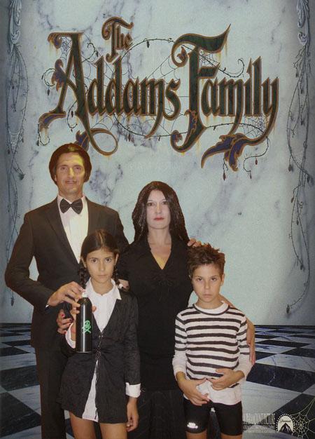 La famille Addams de passage à Bouchemaine