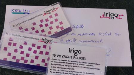 Beau geste commercial de la part de Keolis Angers